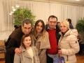 39.Župnik o. Antonio s obitelji iz župe